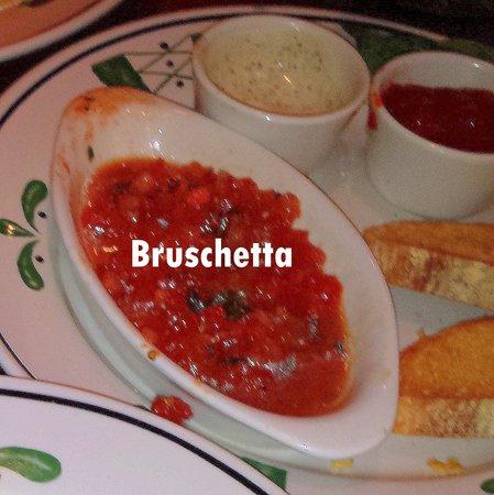 olive garden worst bruschetta we have ever eaten - Olive Garden Winter Park