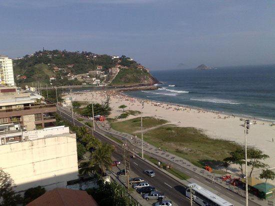 Tropical Barra Hotel: Vista Praia da Barra