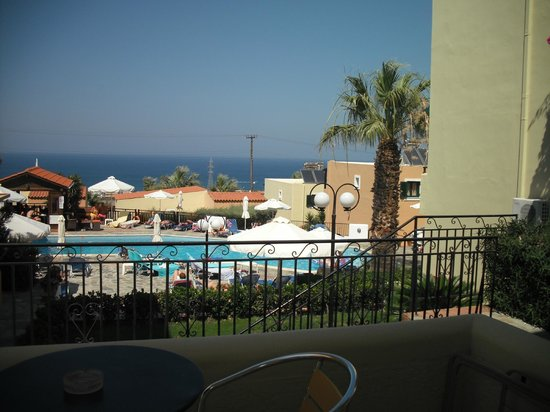 Sunrise Apartments: View from our Balcony!