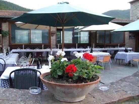 La Casella, Eco Resort : altra sala di ristorazione