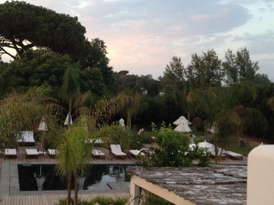 Hotel & Spa La Suite: la piscina dopo il tramonto