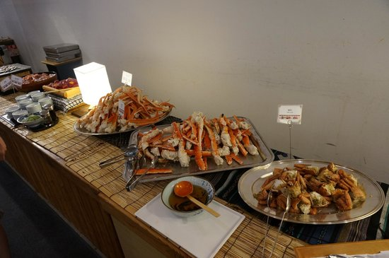 Hotel Mount Racey: Buffet at the hotel