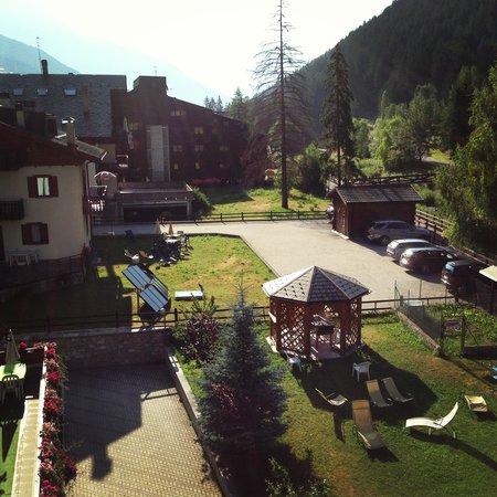 Hotel Residence La Val: vista dalla camera