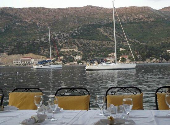 Kasar : vista dal ristorante