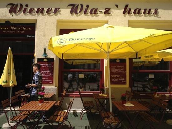 Wiener Wiaz Haus: nice patio