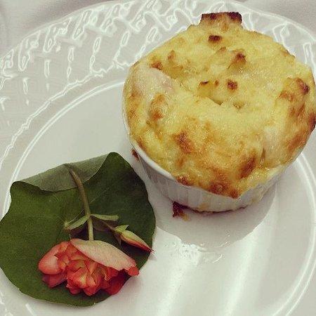 """""""The Hedges Inn Salmon Brie Soufflé"""""""