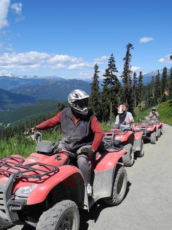 Canadian Wilderness Adventures: Taking a safety break