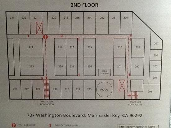 The Kinney: the floor plan: try to avoid rooms on the boulevard (gets noisy)