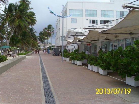 Hotel Casablanca: Frente al Hotel