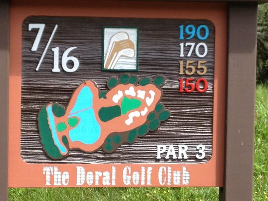 Doral Arrowwood: Here's 7