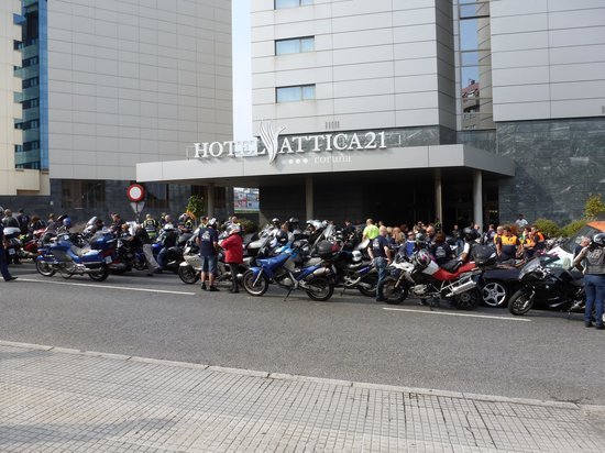Hotel Attica 21: CONCENTRACION MOTOS