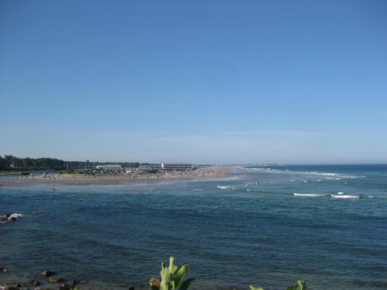 Ogunquit Beach: From the Marginal Way Ogunquit river & beach