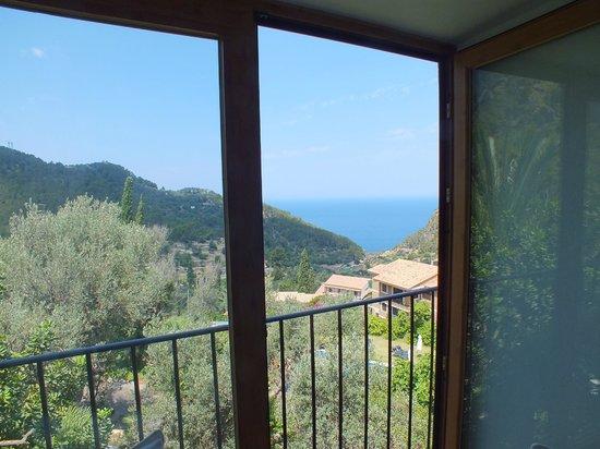 Sa Plana Hotel: Magnifique vue dégagée