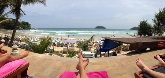 Kata Beach Resort and Spa: What a view