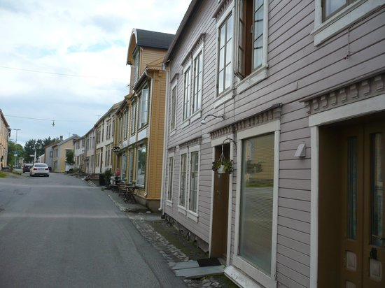 The Historical Sjoegata Street