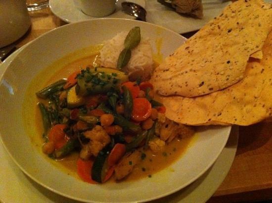 Johannes: veggie thai curry