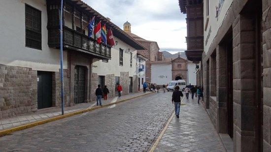 Hotel Golden Inca: 4 longas quadras para chegar ao centro