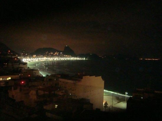 Copacabana Rio Hotel: Vista da sacada