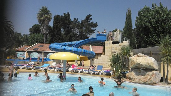 Camping Les Jardins Catalans : Petite piscine sympa