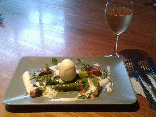 The Harrow: Asparagus of our lunch menu