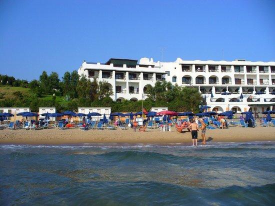 Le Dune Hotel: dal mare