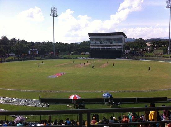 Pallekele International Cricket Stadium : Nice Ground!!