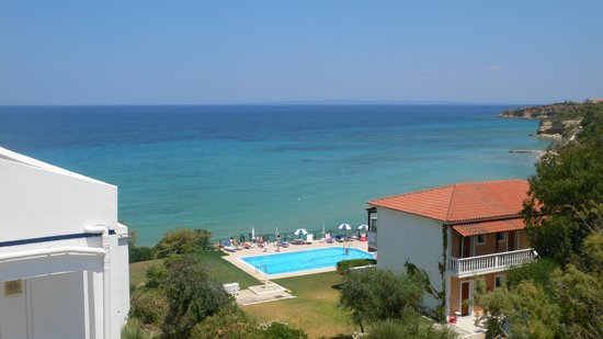 SENTIDO Louis Plagos Beach: View from pool area
