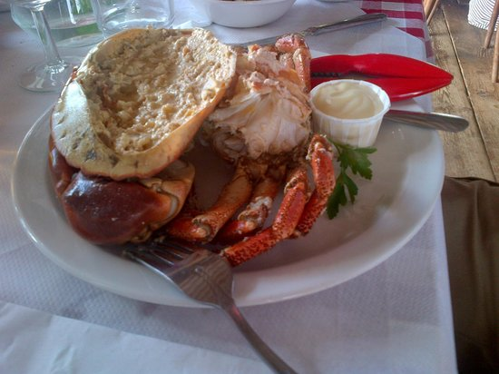 The Whitstable Oyster Company : Crab Lunch