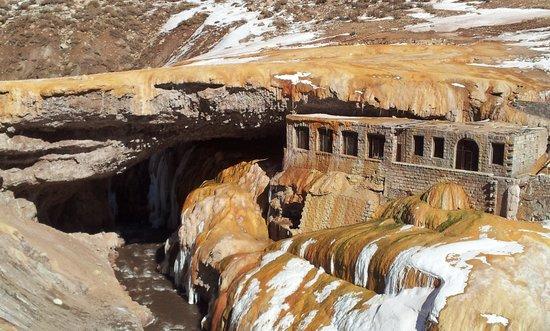 Las Cuevas, อาร์เจนตินา: Puente del Inca