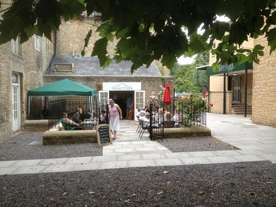 The Courtyard Of The Thai Kitchen, Frome