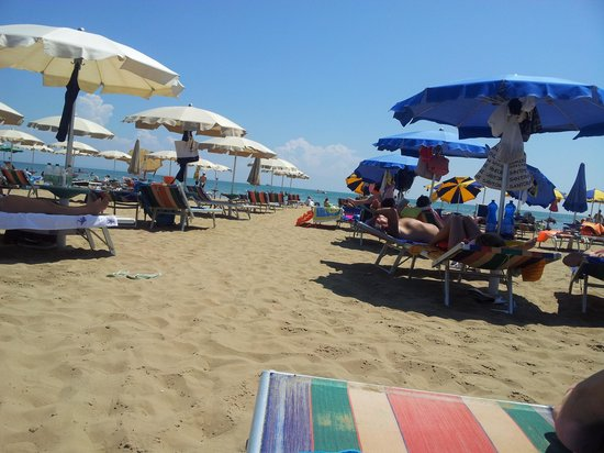 Albergo Etna : Spiaggia