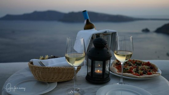 Ikies - Traditional Houses: Dinner at balcony