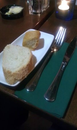 Westcourt Hotel: Homemade bread