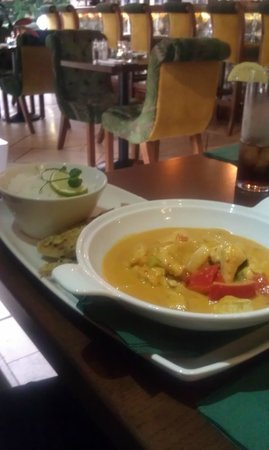 Westcourt Hotel: Thai Red Curry