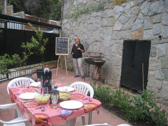 Gisela & Carlos House: Beergarden