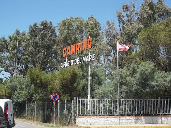 Vada, Italia: L'ingresso del campeggio