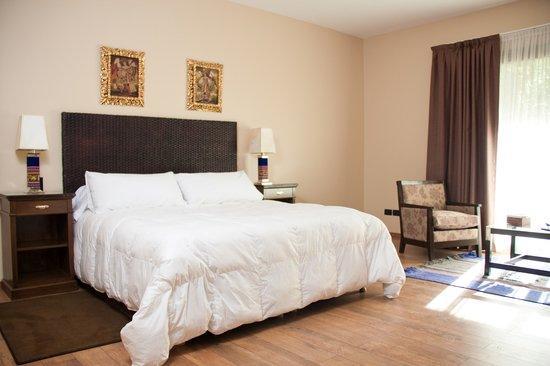 Casa La Galeana Hotel & Cavas : Habitaciones confortables y finos detalles