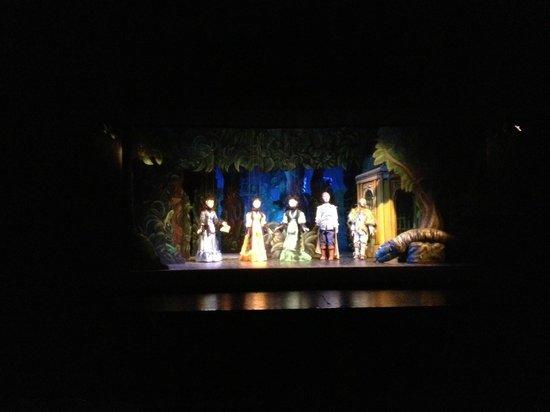 Marionetten Theater Schloss Schoenbrunn : As I said, beautiful
