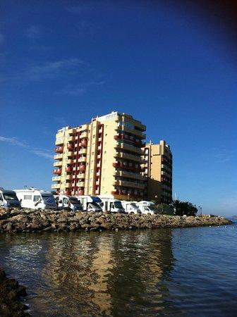 Villas La Manga: Vistas desde la orilla del Mar Menor