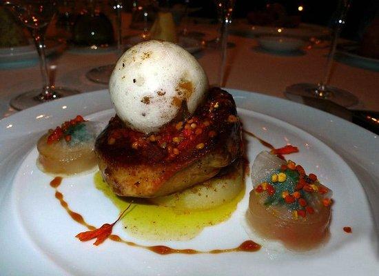 Le Cinq : foie gras de canard des Landes
