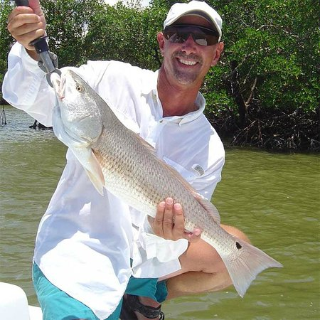 Fishing The Everglades: Redfish in The Everglades with Capt Glenn.