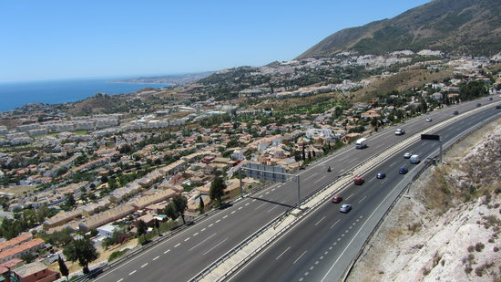 Teleférico Benalmadena: The A7 to Fuengirola