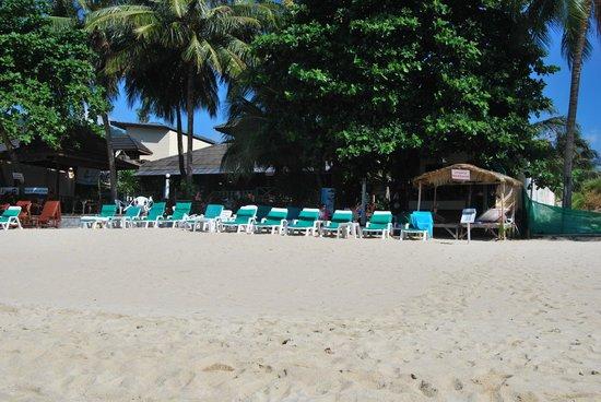 Utopia Resort: spiaggia