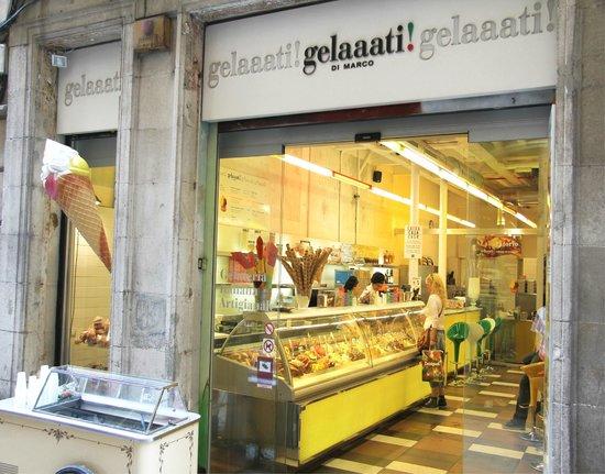Gelaaati di marco barcelona barrio gotico barri gotic - Marcos catalan ...