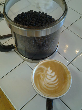 Paradise Sweets: Fresh roasted coffee makes all the difference...