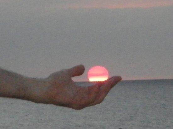 Nuevo Vallarta Beach: HAND IN HAND SUNSET,NUEVO VALLARTA