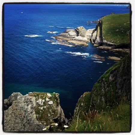 Cabo Vidio: vista