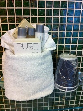 The Ridge Hotel: toiletries
