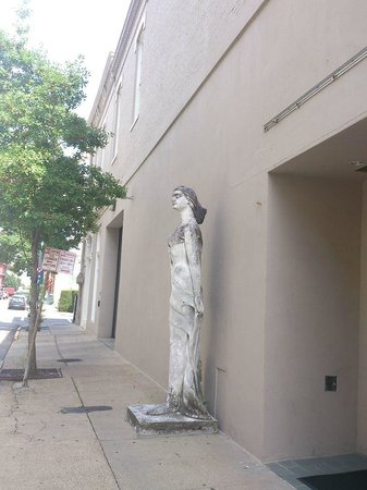 Statues in the Warehouse District