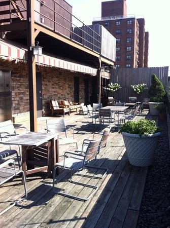 Hotel East Houston: rooftop terrace